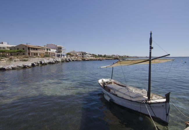Apartamento en LLucmajor - Precioso apartamento frente al mar
