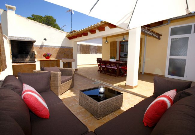 Chalet en Sa Rapita - Fantástica casa cerca del mar