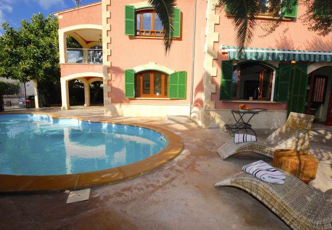 Villa in Sa Rapita - Espectacular Villa frente al mar en Sa Rápita